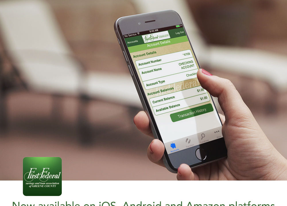 First Federal Savings and Loan Association Mobile Banking App