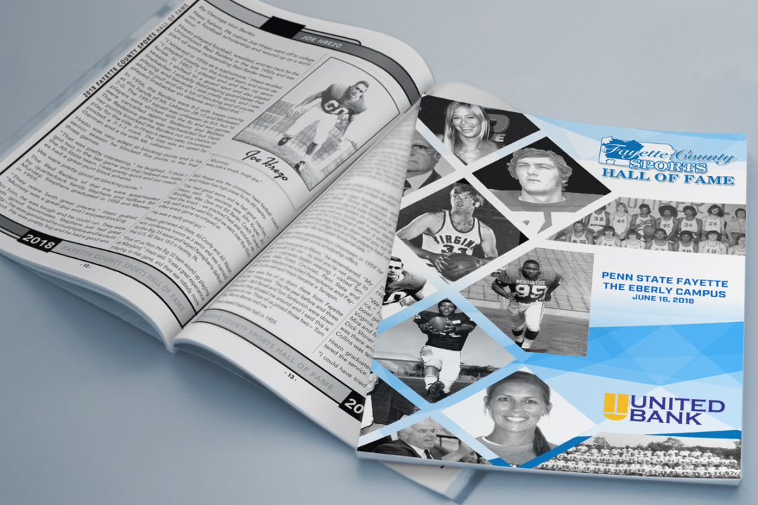 2018 Fayette County Sports Hall of Fame Program