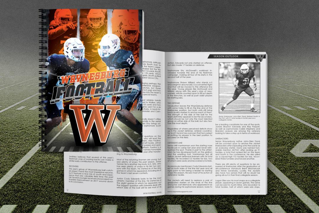 Waynesburg University 2018 Football Media Guide