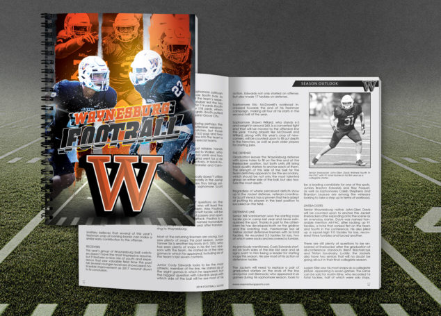 Waynesburg University 2018 Football Media Guide