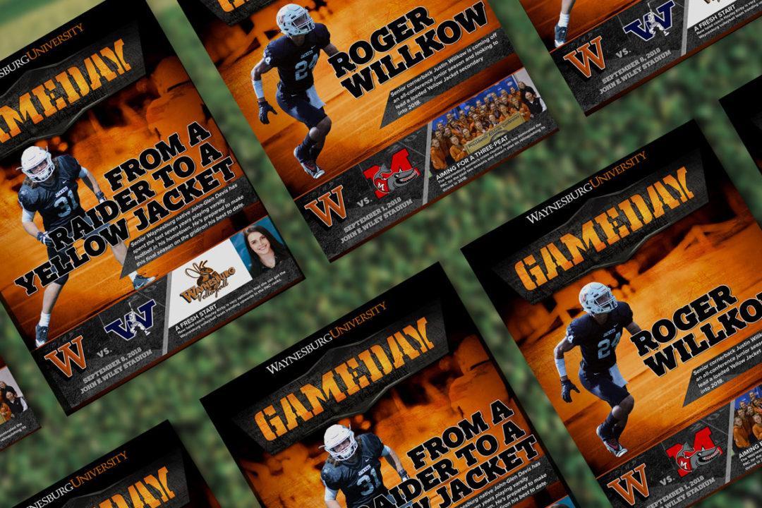 Waynesburg University GameDay Football Programs