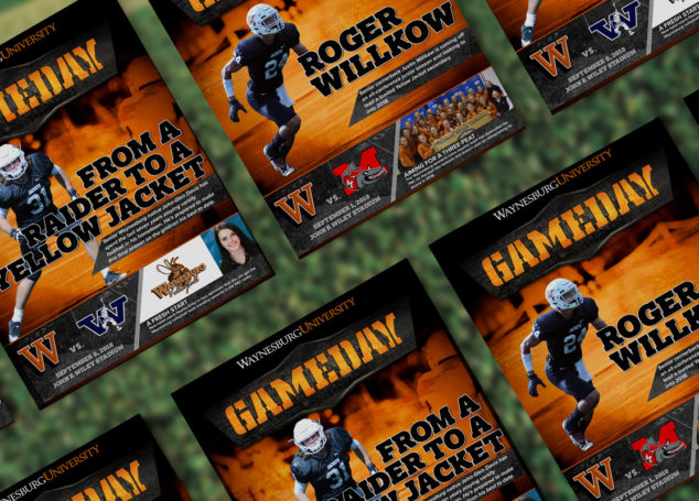 Waynesburg University GameDay Football Programs