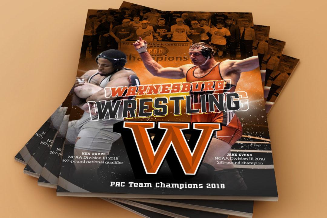 Waynesburg University Wrestling 2018-2019 Media Guide