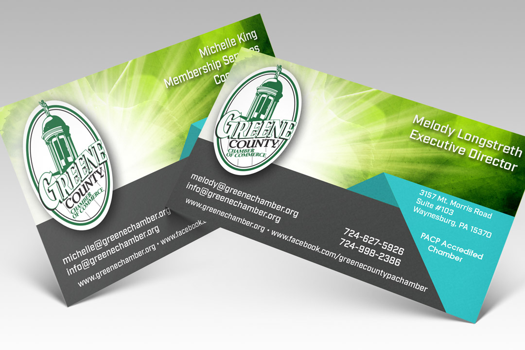 Greene County Chamber of Commerce Business Cards