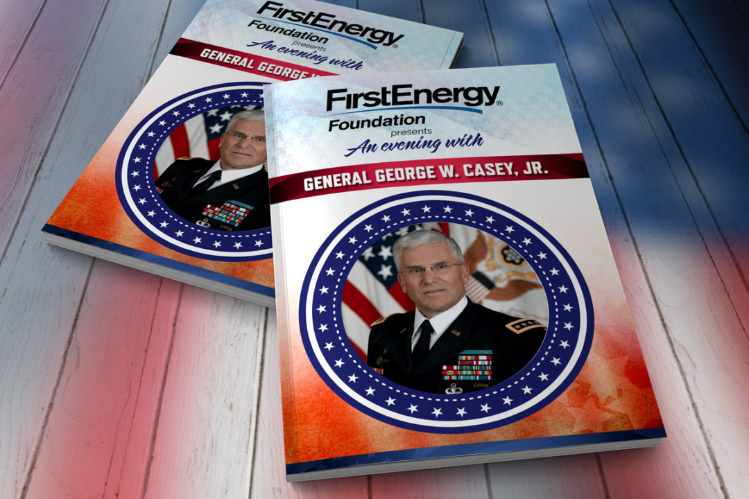 An Evening with General George Casey Program
