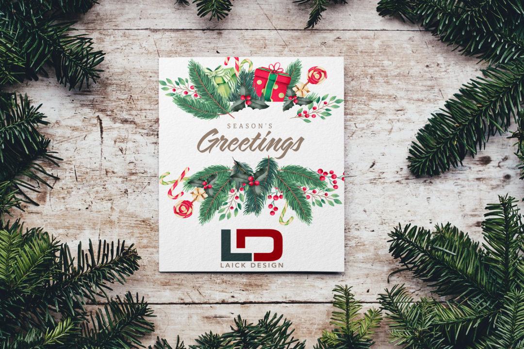 Laick Design 2019 Christmas Cards