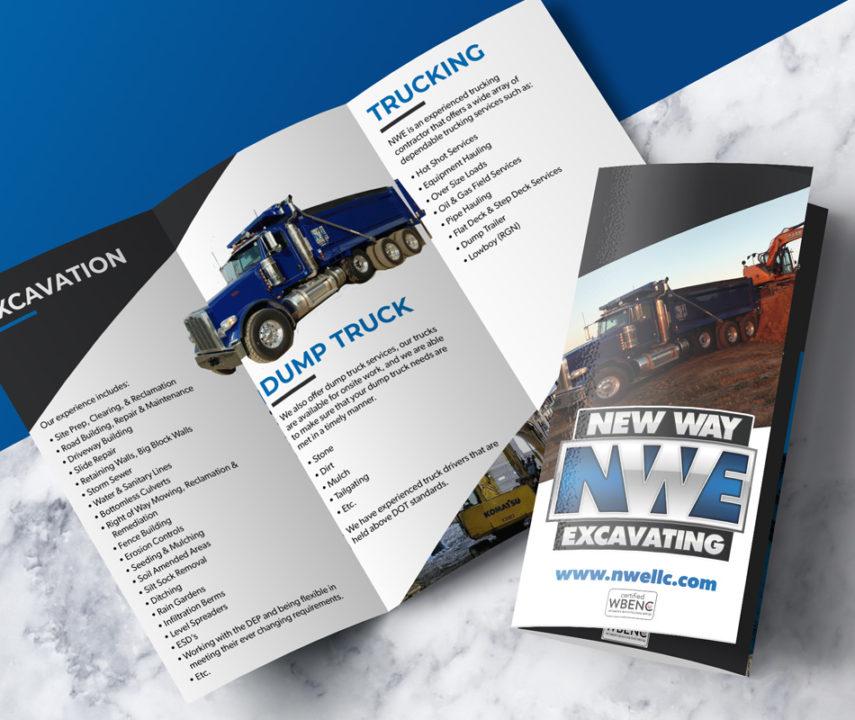 New Way Excavating Brochure