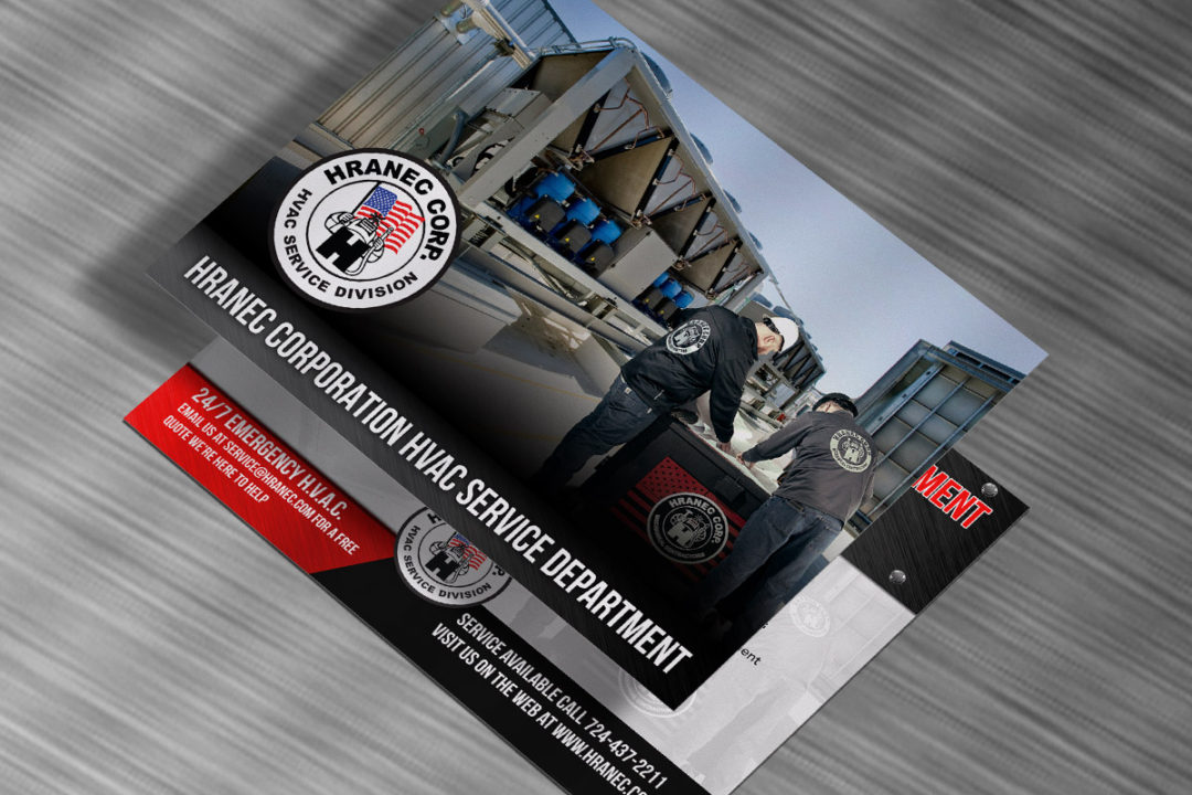 Hranec Corporation HVAC Sell Sheet