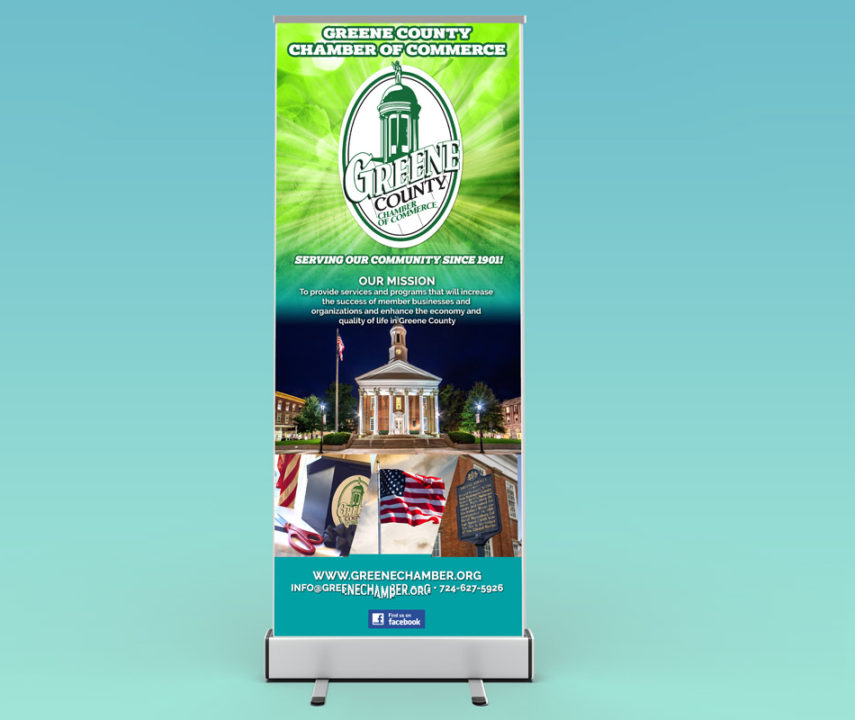 Greene County Chamber of Commerce Event Banner