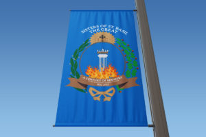 Sisters of St. Basil The Great 100th Anniversary Banners