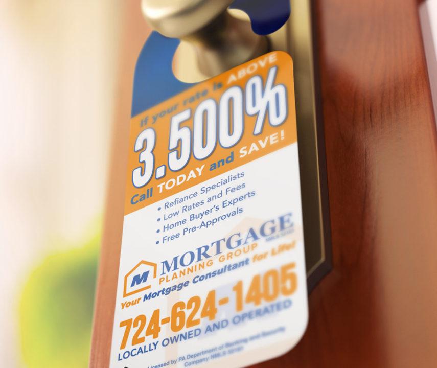 Mortgage Planning Group Door Hangers