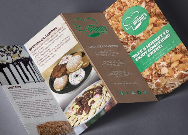 Prantl's Bakery Brochure