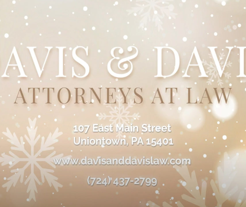 Davis & Davis Attorneys at Law Christmas 2020 Video