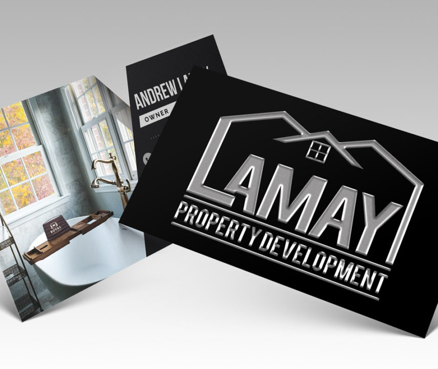 LaMay Property Development Business Cards