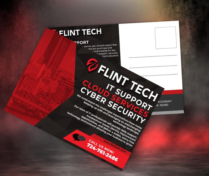 Flint Tech Postcards