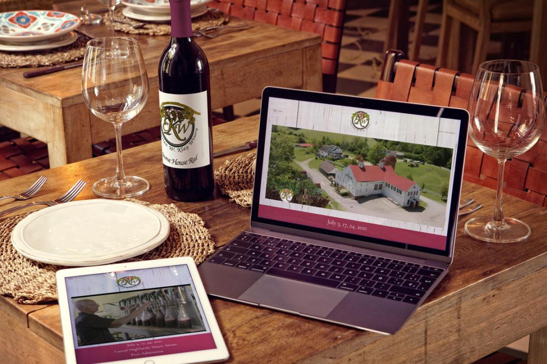 Christian W. Klay Winery Website