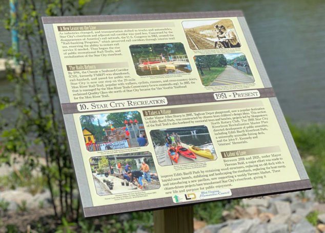 Star City Historical Monument Plaques