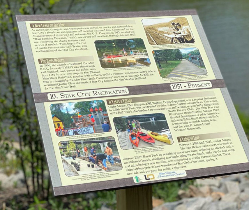 Star City History Plaques